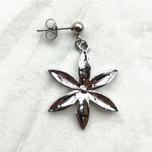 BTS V Flower Stud Earrings