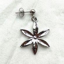 BTS Jimin Flower Stud Earrings