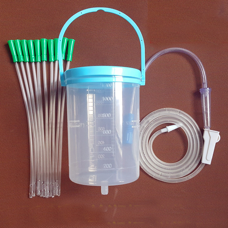 Household barrel enema bag Gesen coffee intestine bowel hydrotherapy device with 10 tube 38mm cylinder barrel piston kit