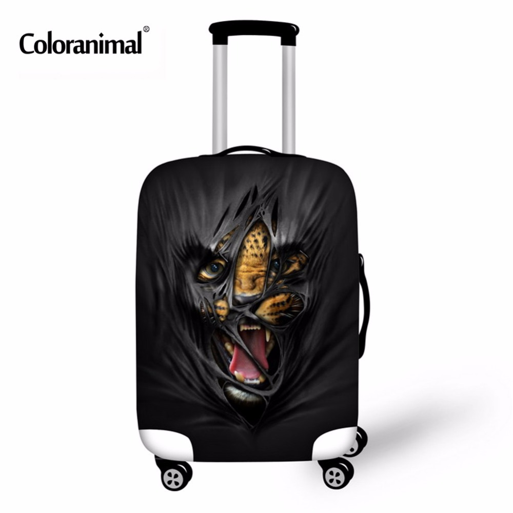 Coloranimal Luggage-Protective-Cover Accessories-Supplies Travel-Case Trolley Rain-Bags