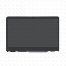 B140XTN02. E N140HCE EBA 14 IPS LED LCD Touch Screen Digitador Assembléia + Quadro Para HP Pavilion X360 14 ba series