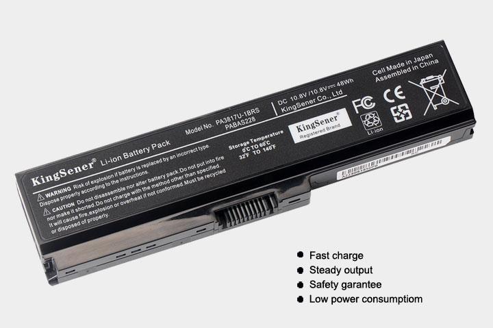 KingSener PA3817U Laptop Batteri för TOSHIBA L630 L650 L645 L655 - Laptop-tillbehör - Foto 3