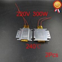 2 шт. 220 В 300 Вт Ptc нагреватель яичный котел запасные части термостат для бойлера алюминиевый нагрев керамический