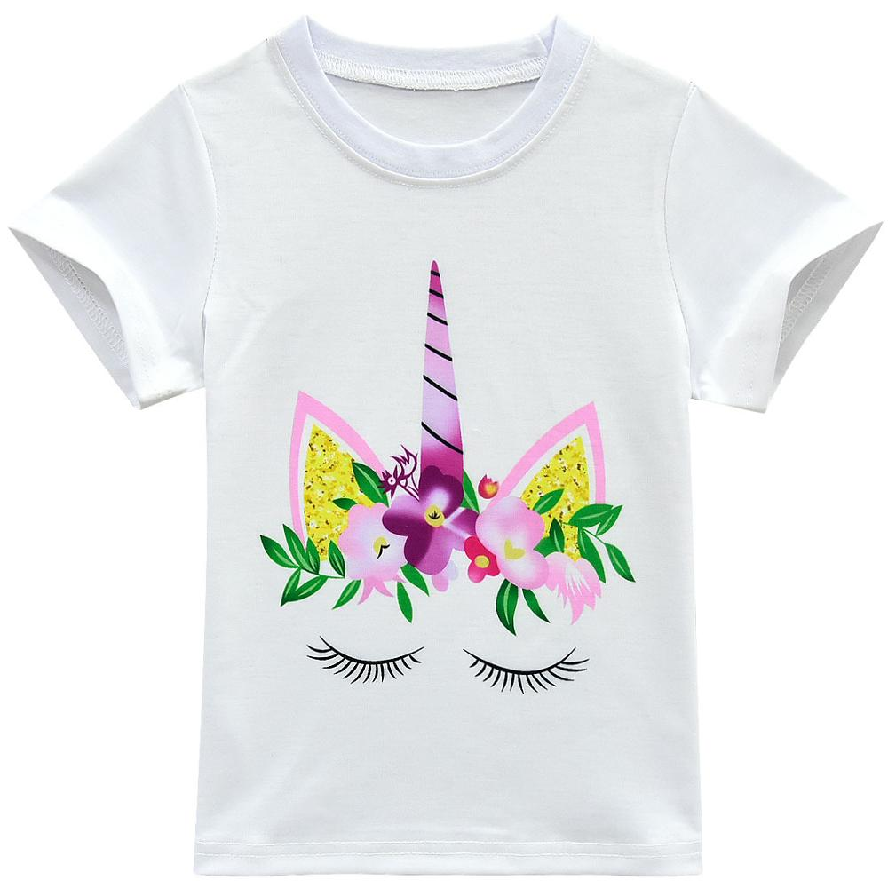 Unicorn Clothes Baby Girls Dresses For Party And Wedding Teens Fashion Kids Summer Clothes Sets Toddler Outfits Childrens Shorts 3