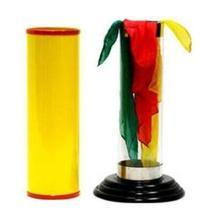 Хрустальный Шелковый цилиндр от Duane Laflin& Marty Hahne-Magic tricks