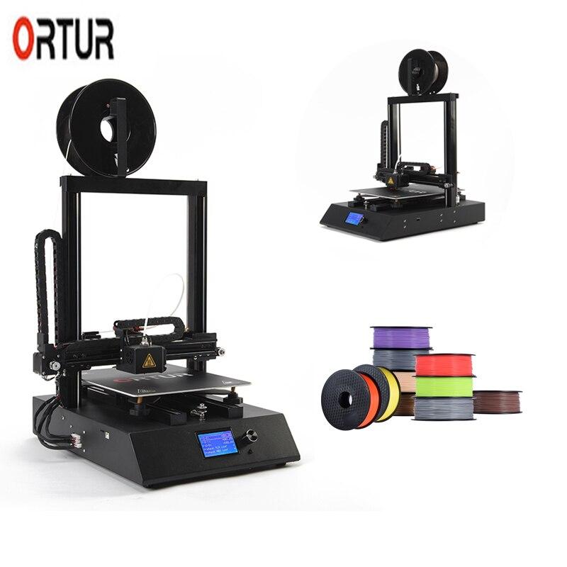 Stampante 3D professionnel Ortur-4 nivellement automatique 3 D imprimante vitesse d'impression réelle 100 MM/S-150MM/S avec 1.75 MM PLA Filaments ABS