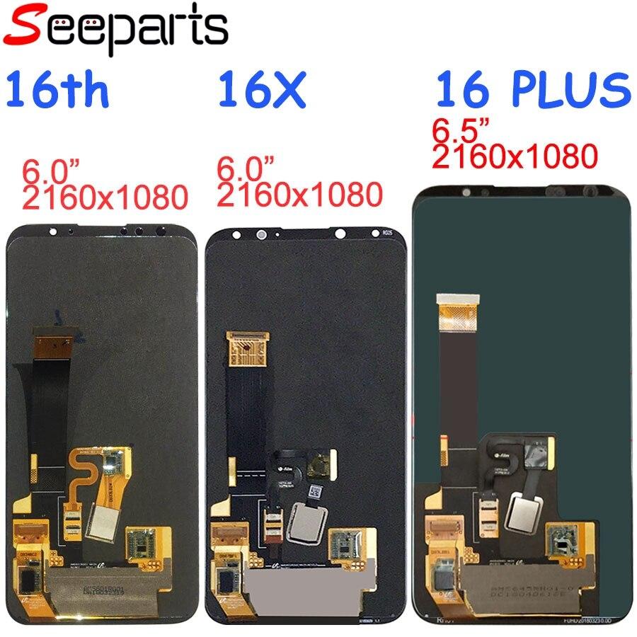Meizu 16 LCD Affichage à L'écran Tactile Digitizer Assemblée 16th M882Q M8821H M872Q M872H Pour Meizu 16 Plus LCD Écran 16X remplacement