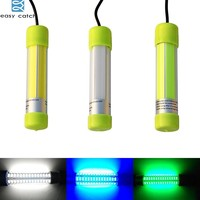 Easy Catch LED 20W 12 24V Underwater Fishing Light for deep water boat night fishing Lamp tackle 3 Color