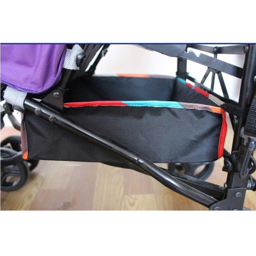 2015 Hot Sale General Baby Stroller Accessories Carrying Baskets Shopping Baskets Baby Umbrella Car Basket Cart