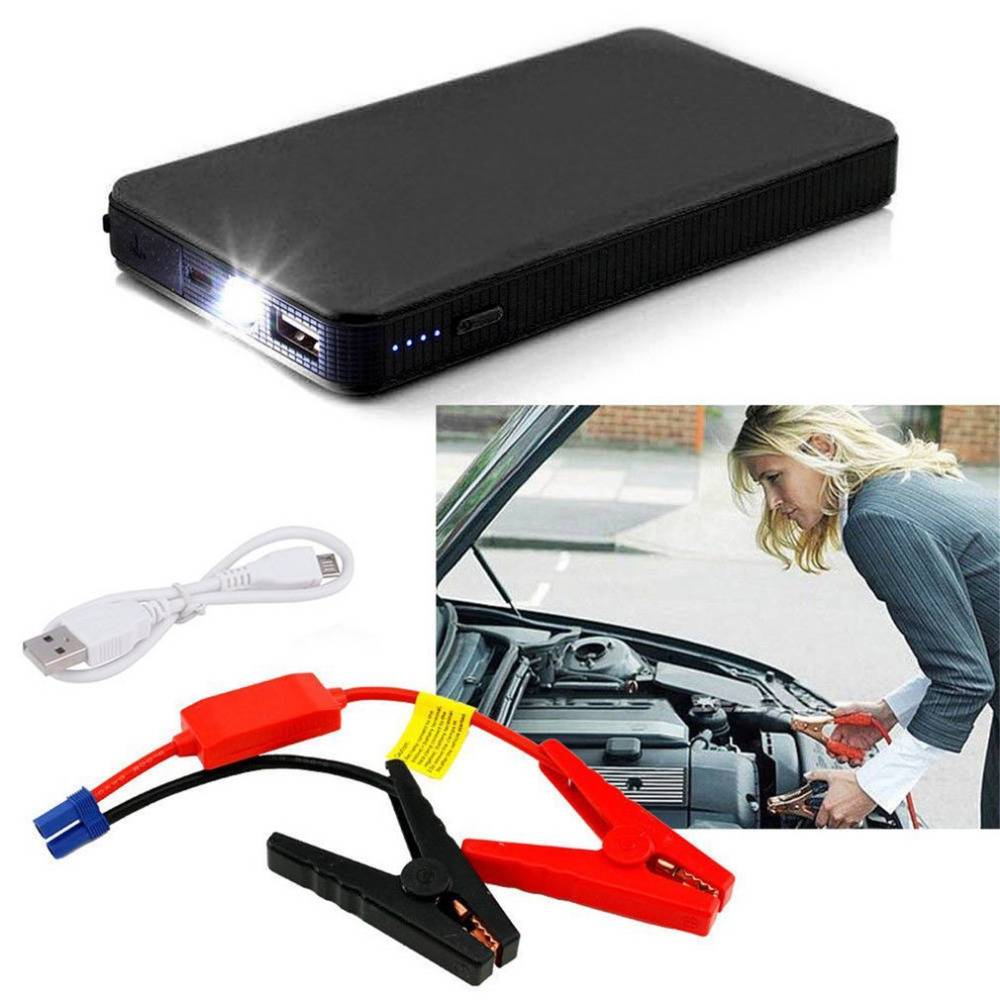 12V 20000mAh Mini Portable Multifunctional Car Jump Starter Power Booster Battery Charger Emergency Start Charger Colorful цены