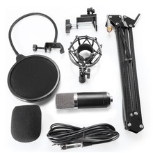 Condenser Microphone Kit With Stand