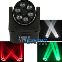 15Wx6 Mini Moving Head Led Stage Disco DJ DMX Spot Lamp Gobo Strobe Laser Show Party Licht Soundlights Home ColorMusic Lumiere