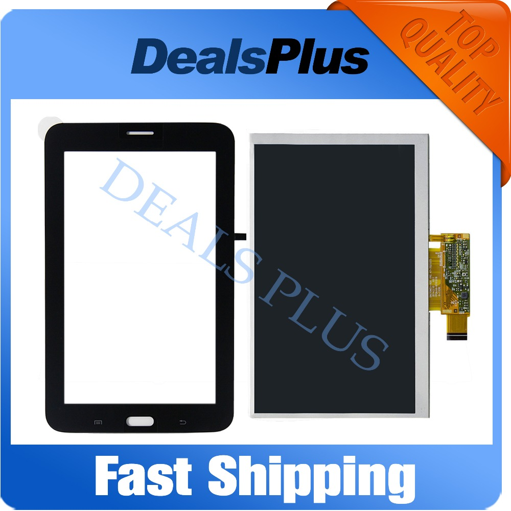 Replacement New LCD Display + Touch Screen For Samsung Galaxy Tab 3 Lite 7.0 SM-T111 T111 7-inch White Black Free Shipping носочки пилинг для педикюра gess spa socks gess 051