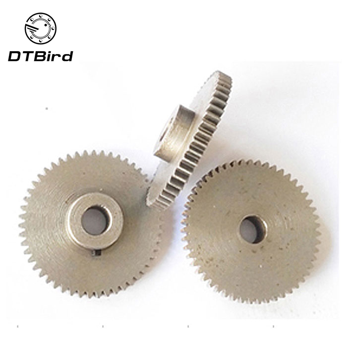 1pcs/lot 0.6M 100 105 110 115 120 Teeth hole=3/3.17/4/5/6/6.35/7/8mm carbon steel convex copper gear machining parts