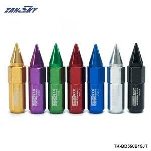 Image 3 - 20Pc M14X1.5 Spiked Wielmoeren Uitgebreide Tuner 60Mm Wiel/Velgen Voor Honda Acura TK DD550B15JT