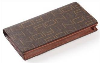 Fion Brown Man Long Wallet