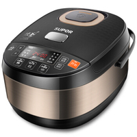 Digital Timer Control Electric Rice Cooker 4L Ball Cyclone IH Dimensional Heating Intelligent Multifunction Rice Cooking Machine