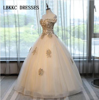 Champagne Quinceanera Dresses Sweet 16 Dresses For 15 Years Ball Gown Quinceanera Gowns Prom Dresses Vestido 15 Anos