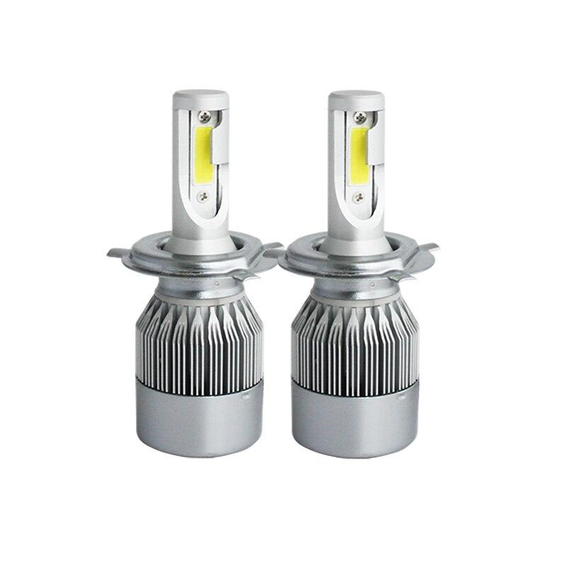 2X H7 led auto scheinwerfer H4 H11/H8/H9 H1 H3 hb3 9005 hb4 9006 9004/9007 880 licht birne auto nebel lampe 72 watt Autos scheinwerfer