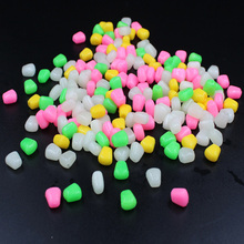 20PCS Really floating corn lure Mealworms soft bait worms class 4colors 0 42g 2016 new carp
