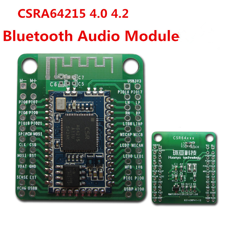 1 PC CSRA64215 4.0 4.2 Bluetooth Audio Module APTX-LL TWS I2S Output for amplifier Low p ...