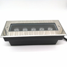 Factory Wholesale price 5x2W LED wall washer lights,RGB / White Led outdoor light,85~265V,IP68,200*80*60MM underground lamp