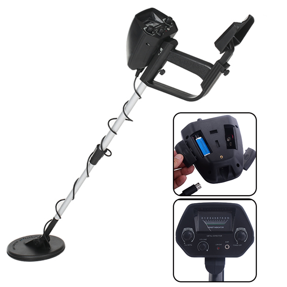 Protable Underground Metal Detector Gold Treasure Metal Finder Hunter Under Shallow Water Length AdjustableProtable Underground Metal Detector Gold Treasure Metal Finder Hunter Under Shallow Water Length Adjustable