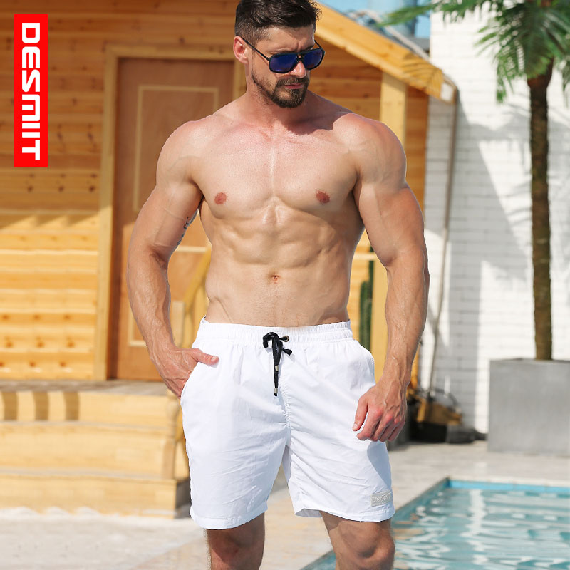 Desmiit Swimwear Men's   Board     Shorts   Summer Beach Swimming   Shorts   Athletic Sport Running Gym Male   Shorts   Home   Shorts   Men