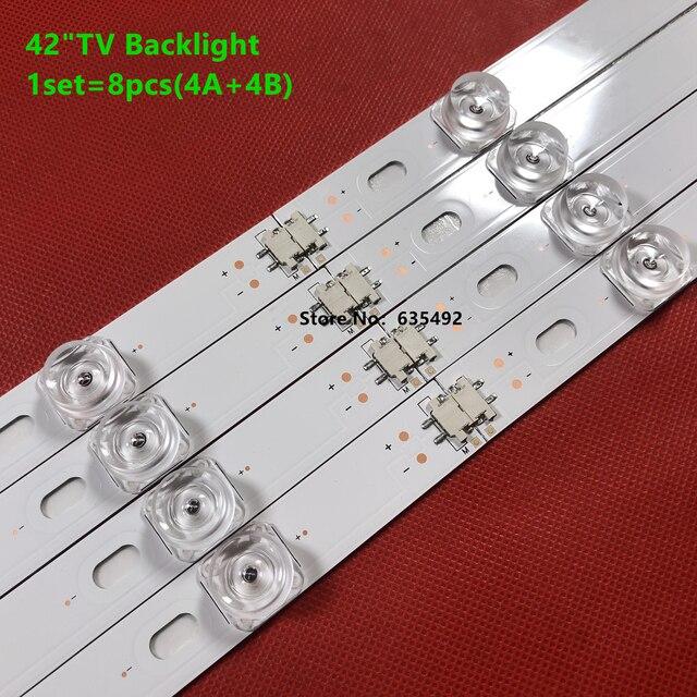 8pcs LED Backlight strip For 42GB6310 42LB6500 42LB5500 42LB550V 42LB561V 42LB570V 42LB580V 42LB585V 42LB5800 42LB580N 42LB5700