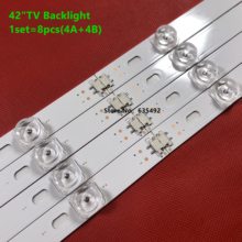 8PCS LED Backlight Strip For 42GB6310 42LB6500 42LB5500 42LB550V 42LB561V 42LB570V 42LB580V 42LB585V 42LB5800 42LB580N 42LB5700
