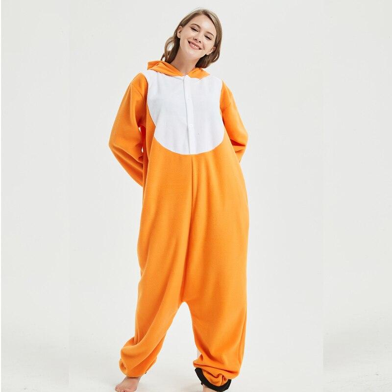 fox adult onesie pajamas