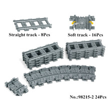 IN STOCK NEW Building 98215 Blocks font b Toys b font for Children Rail Tracks for