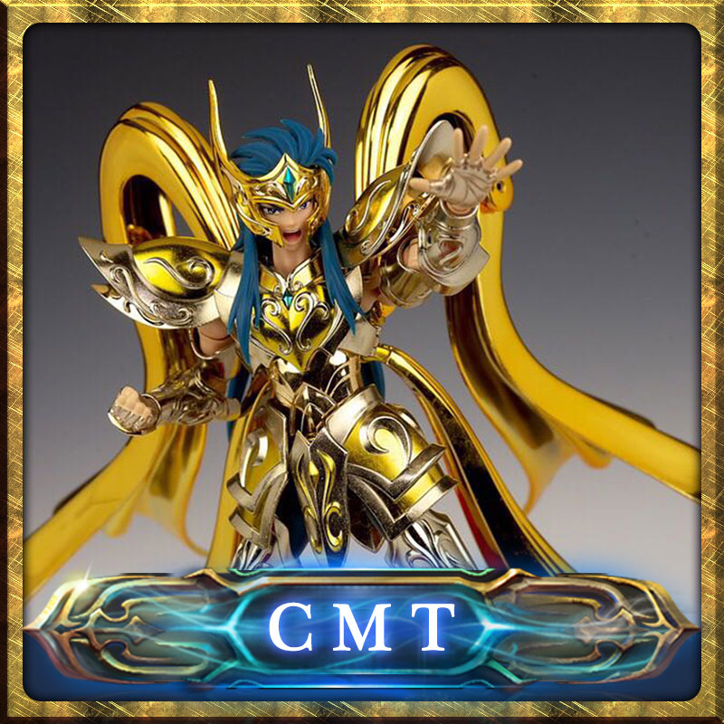 CMT CS Model God Aquarius model EX Aquarius Camus God Cloth Soul Of Gold Saint Seiya Metal Armor Myth Cloth Action Figure anime action figure saint seiya myth cloth nordic god fighter alkaid red meem metal armor collectible model