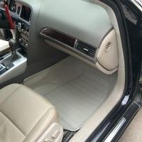 Custom waterproof special car floor mats for Audi A6L 5seats durable no odor carpets for A6L 5seats