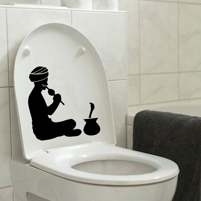 snake charmer india hindu vinyl wall sticker toilet decal home decor