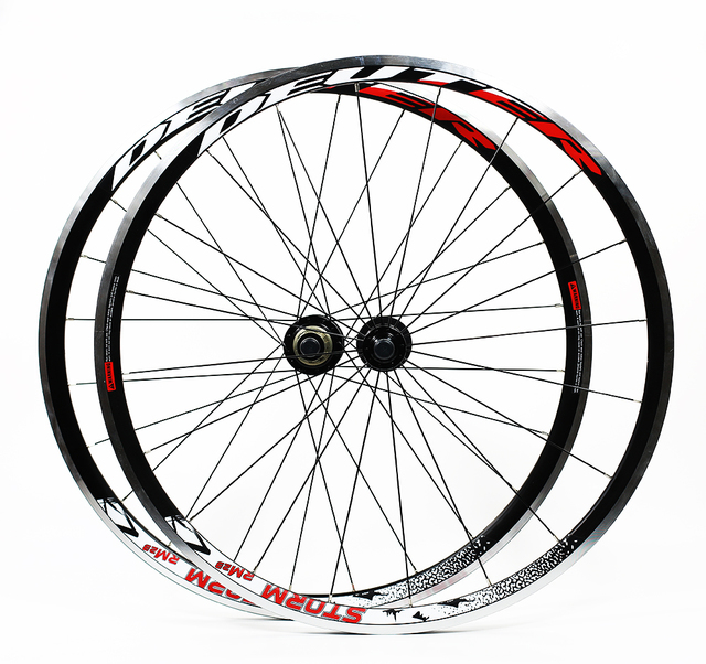 42199bd88e9 Road Bike Bicycle 700C High strength lubrication 4Bearings contest Wheelset  8 9 10 speed support 30MM Rims bicycle parts. 1 order