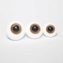 1 Pair DIY Glass BJD Eyes 12mm 14mm 16mm For SD Dolls 1/3 1/4 1/6 Doll Accessories Eyeballs Toys Child With 1pc Clay