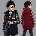Wool Coat For Boys Girls Woolen Coat Plaid Girls Coats Childrens Children Wool Coats Kids Jacket Clothing Sets