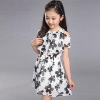 Big Girl Dresses Summer 2016 New Children S Clothing Kids Flower Dress Chiffon Princess Dresses Girls