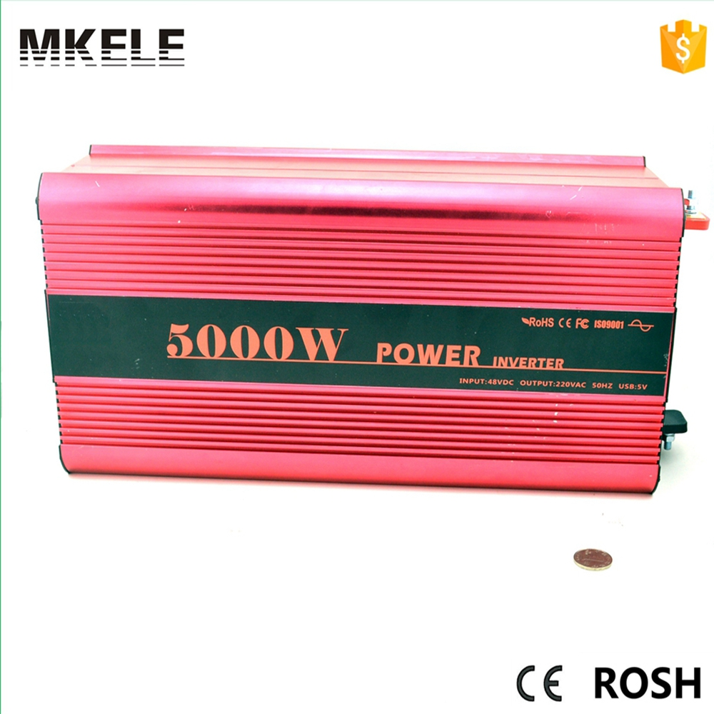 MKP5000-122R pure sine power dc to ac power inverter dc 12v ac 220v 5000w,peak power 10000watt type single output цена