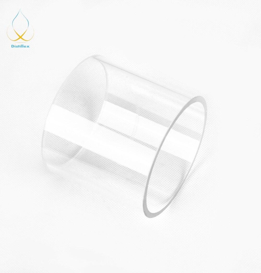 Borosilicate Glass 80mm X 5mm X100mm. Column For Distillation.
