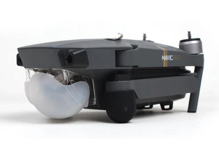Защита камеры силиконовая mavic pro недорогой аксессуары квадрокоптер dji