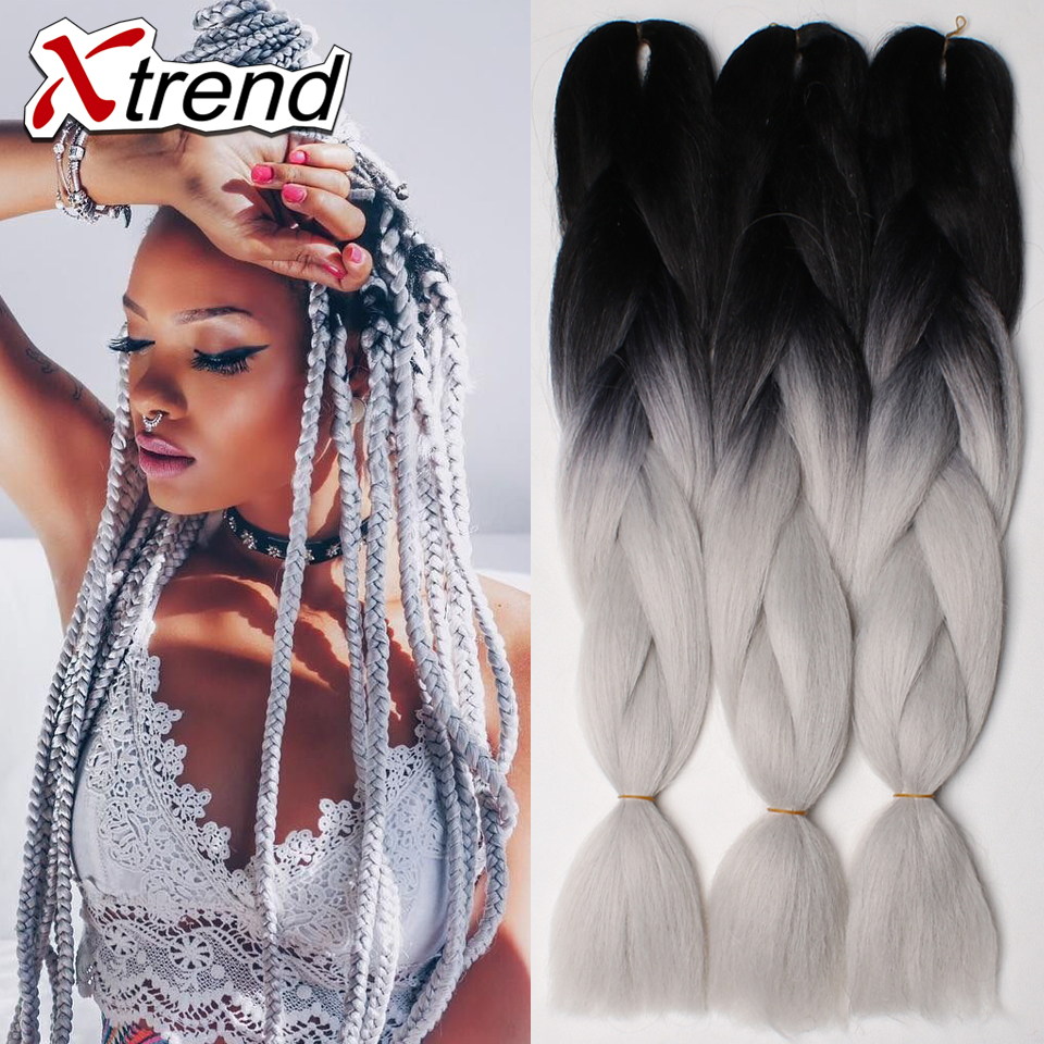 Kanekalon Xpression Braiding Hair For Box Braids 24 100g