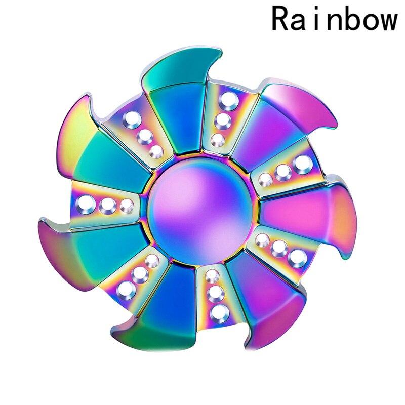Непоседа Spinner красочные колеса Fly Dragon металлическая рука Spinner анти-стресс игрушки