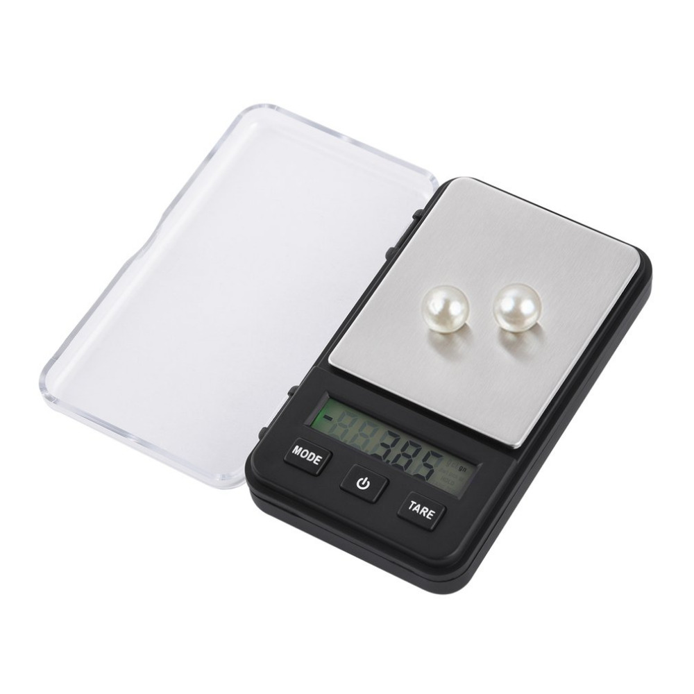 200g x 0.01g Professinal Mini Digital Scale LCD Display Electronic Counting Jewelry Scales Auto Calibration Tare Function