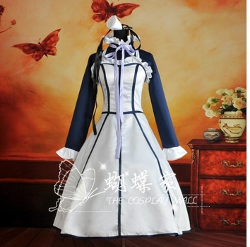 New Black Butler II 2 Hannah  maid Cosplay Costume Party  Dress