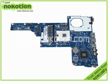 laptop motherboard for hp 2000-2B 685783-501 6050A2493101-MB-A02 HM77 GMA HD4000 DDR3