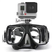 Полезно плавать очки дайвинг маска с креплением для GoPro Go Pro Hero 1 2 3 3 + 4 SJ4000 SJ5000 SJ6000 для Xiaomi Yi acion Камера