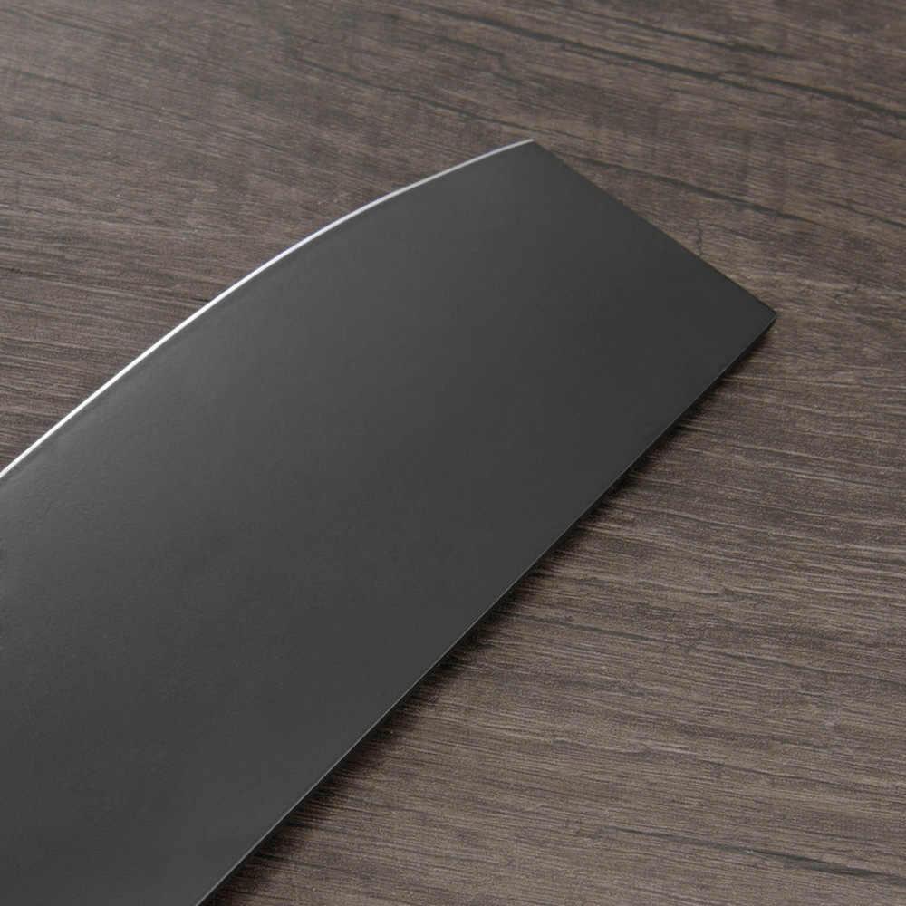 XYj ножи из нержавеющей стали японские кухонные ножи шеф-повара ультра острое лезвие сантоку Мясник хозяйственный нож кухонные инструменты