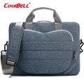 Cool Bell водонепроницаемый 12.4 13.3 15.6 дюймов ноутбук сумка портфель Сумка в форме Сердца Передний Карман Для Macbook/Asus